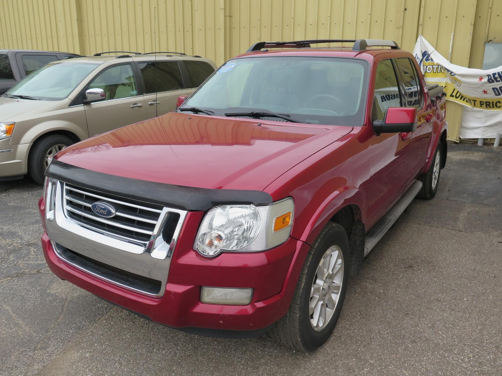 Pre-Owned 2007 Ford Explorer Sport Trac Limited
