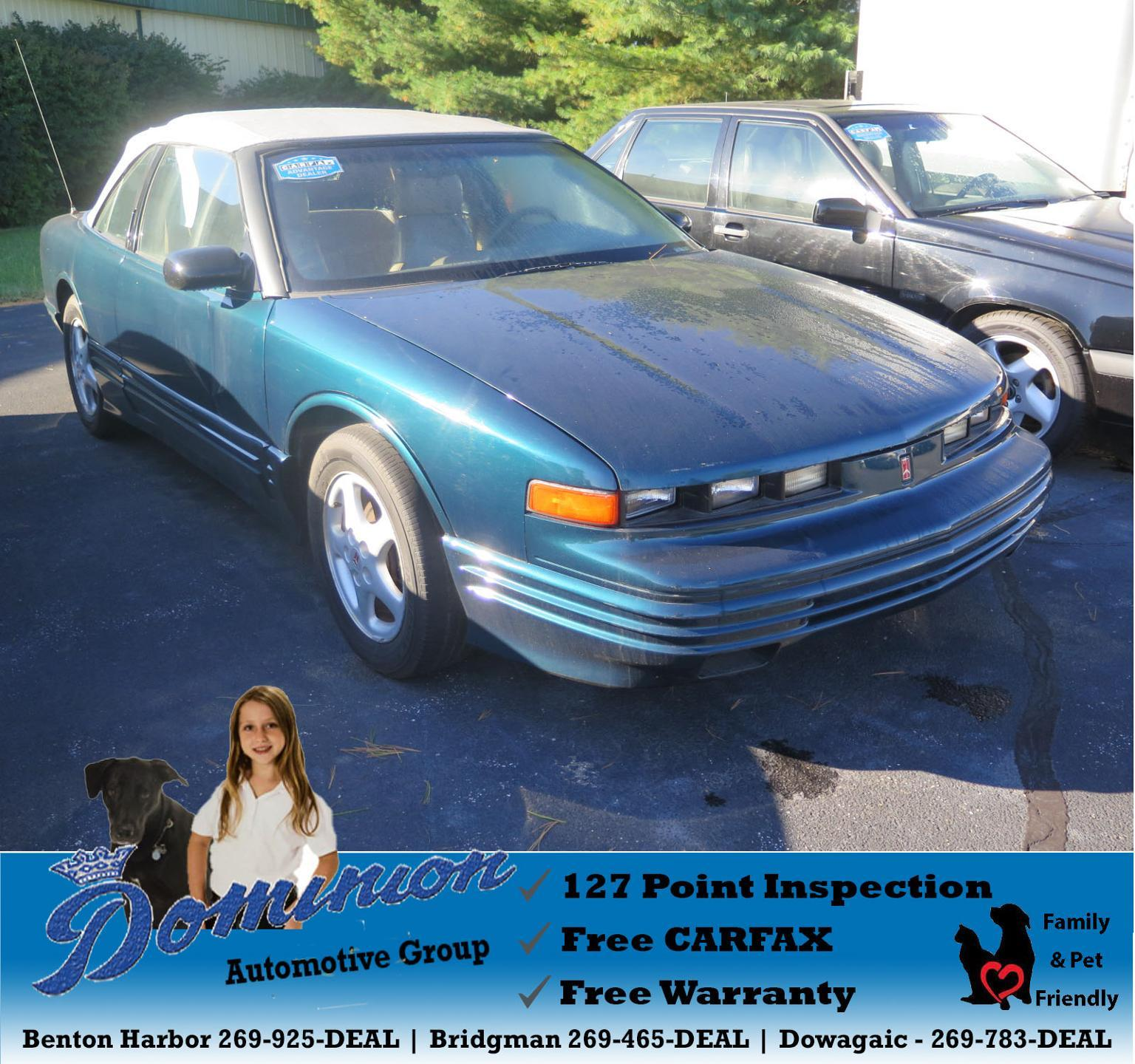 Pre-Owned 1995 Oldsmobile Cutlass Supreme