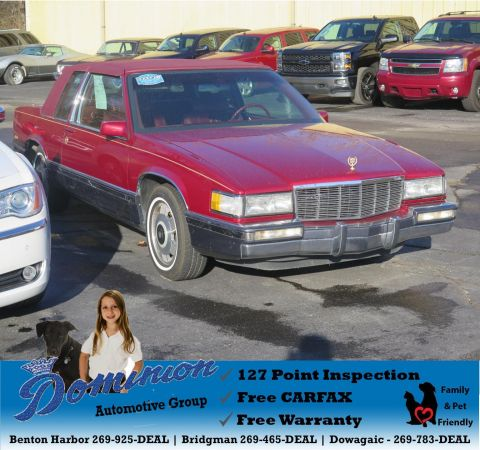 Pre-Owned 1991 Cadillac Deville