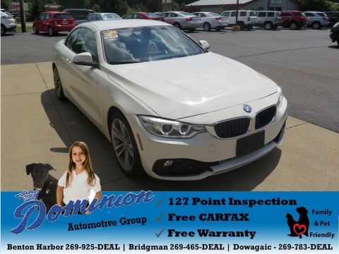 Pre-Owned 2017 BMW 430i Convertible